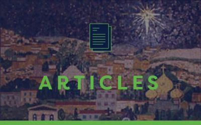 Mosaic of Jerusalem – Ann Pawson tells the story