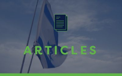 A Note about praying for Israel from Ofer Amitai